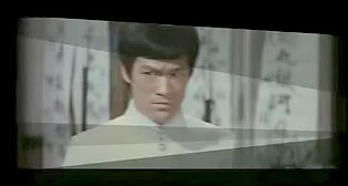 "A still of Bruce Lee from ""The Slanted Screen."" (courtesy of ""The Slanted Screen"")"