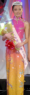 Susan Liu, Miss New York Chinese 2006 3rd Runner-Up. (photo by Yuan-Kwan Chan / Meniscus Magazine)