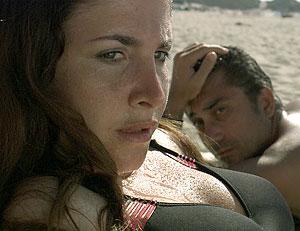 "Ebru Ceylan (left) as Bahar and Nuri Bilge Ceylan as Isa in ""Climates."" (Photo Credit: Zeitgeist Films)"
