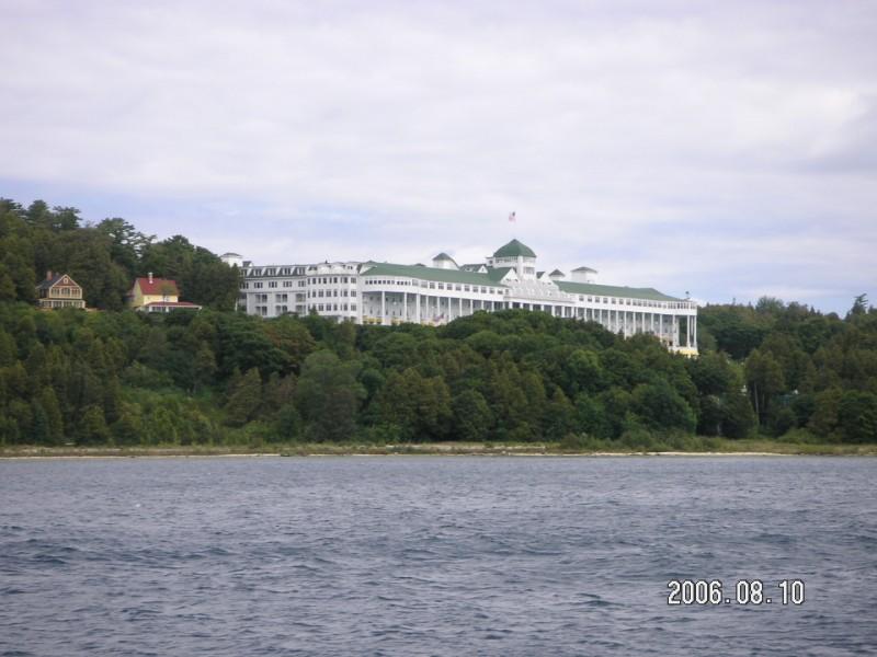 The Grand Hotel on Mackinac Island. (photo by Scott Miller / Meniscus Magazine)