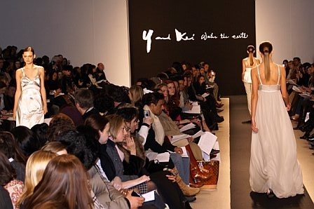 The Cynthia Steffe Fall 2007 collection showed at Exit Art in Manhattan on Feb. 6.