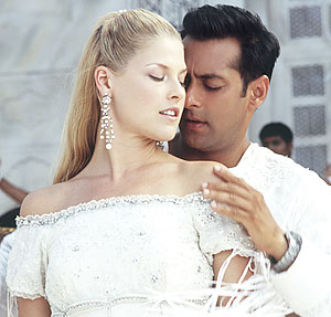 "Ali Larter stars as Marigold Lexton and Salman Khan as Prem in ""Marigold."" (photo courtesy of ""Marigold"")"