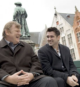 "Brendan Gleeson and Colin Farrell in Martin McDonagh's ""In Bruges."" (courtesy of Focus Features; photo by Jaap Buitendijk)"