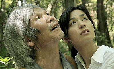 "Shigeki Uda (left) and Machiko Ono in Naomi Kawase's ""The Mourning Forest."" (Photo: KUMIE/Celluloid Dreams Production/Visual Arts College Osaka)"