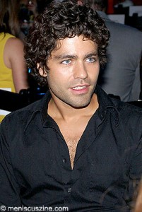 Adrian Grenier at Be EcoChic. (photo by Bibs Teh / Meniscus Magazine)
