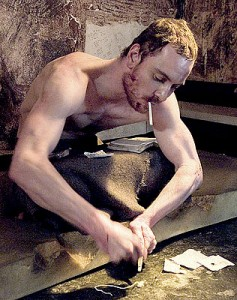 Michael Fassbender plays Bobby Sands, the IRA activist and political prisoner who died in 1981 following a 66-day hunger strike. (photo courtesy of Blast! Films - Hunger Ltd. 2008 / IFC Films / Film Society of Lincoln Center)