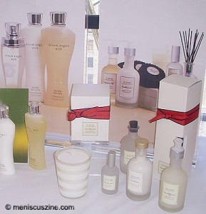 Some of the new Victoria's Secret products scheduled to hit stores this fall. (photo by Yuan-Kwan Chan / Meniscus Magazine)