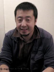 """Useless"" director Jia Zhang-ke. (photo by Christopher Bourne / Meniscus Magazine)"