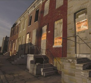 "Foreclosed houses in a scene from Leslie Cockburn's documentary ""American Casino."" (Photo Credit: Phil Geylin)"
