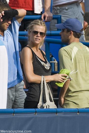 Brooklyn Decker, Andy Roddick's wife. (photo by Kwai Chan / Meniscus Magazine)