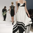 The Carlos Miele Fall 2009 women's collection was inspired by the work of American conceptualist artist Sol LeWitt.