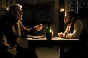 "Ron Perlman and Dominic Monaghan in ""I Sell the Dead."" (still courtesy of ""I Sell the Dead"")"