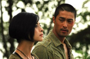 """Ngo Thanh Van (left) and Johnny Tri Nguyen in """"Clash."""" (photo courtesy of the Tribeca Film Festival)"""