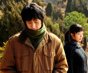 "Lee Sun-kyun (left) and Seo Woo in Park Chan-ok's ""Paju."" (Photo: Hong Suk-chang)"