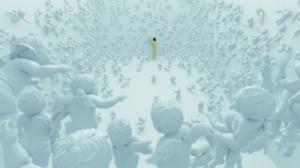 "A scene from Hitoshi Matsumoto's ""Symbol."" (Photo: The 14th Pusan International Film Festival)"