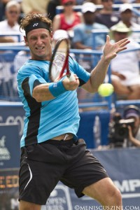 David Nalbandian won his first tournament of 2010 at the Legg Mason Tennis Classic. (photo by Kwai Chan / Meniscus Magazine)