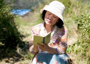 """Yoon Jeong-hee in Lee Chang-dong's """"Poetry."""" (photo courtesy of Kino International)"""