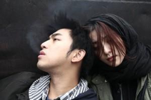 "Chen Bolin (left) and Fan Bingbing in Li Yu's ""Buddha Mountain."" (Credit: Laurel Films)"