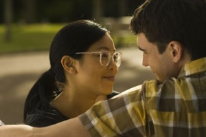 "Actors Michelle Ang (as Emily) and Matt Whelan (James) in ""My Wedding and Other Secrets."" (photo courtesy of South Cinema Pictures)"
