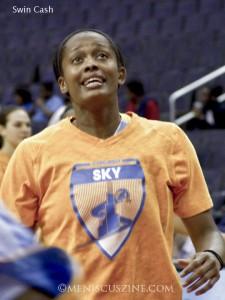 Swin Cash - WNBA