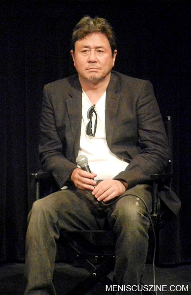 "Choi Min-Sik at the ""Nameless Gangster"" screening on June 30, 2012, at the New York Asian Film Festival. (photo by Yuan-Kwan Chan / Meniscus Magazine)"
