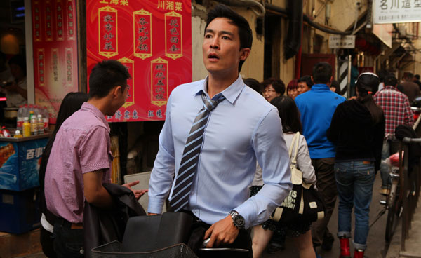 Daniel Henney won the Best Actor Award at both the Shanghai and Newport Beach International Film Festivals. (photo by Gao Yuping / courtesy of Americatown LLC)