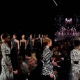 After appearing at a ribbon-cutting ceremony alongside Victor Cruz and Kate Upton, Naeem Khan showed his Fall 2012 collection at New York Fashion Week.