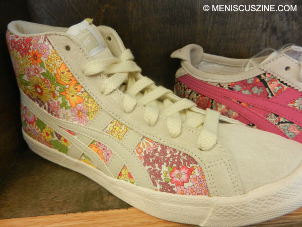 Onitsuka Tiger continues its collaboration with Liberty of London for Spring 2013. (photo by Yuan-Kwan Chan / Meniscus Magazine)