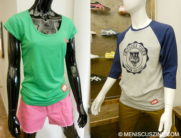 Onitsuka Tiger makes its casual apparel debut in 2013. (photo by Yuan-Kwan Chan / Meniscus Magazine)