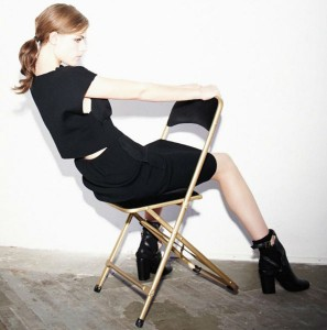 An image from the Sonia by Sonia Rykiel Pre-Fall 2013 lookbook. (photo by Stéphane Gallois for Sonia by Sonia Rykiel)