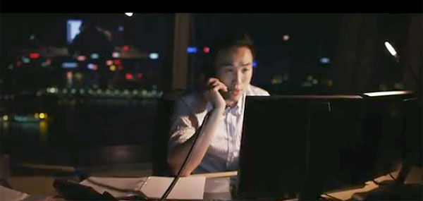 "Derek Ting (Conner) in ""$upercapitalist,"" which was shot in New York and Hong Kong. (still from ""$upercapitalist"" trailer)"