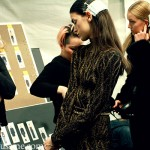 Mathieu Mirano - Backstage Fall 2013 New York Fashion Week