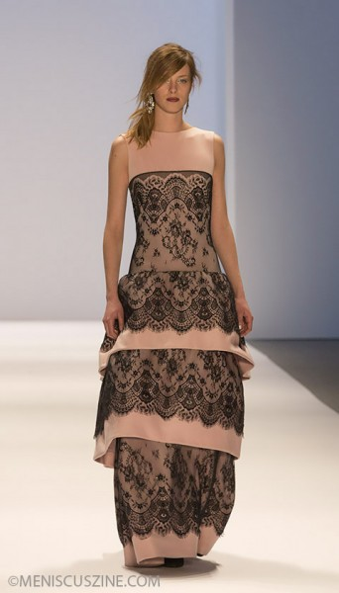 Tadashi Shoji - Fall 2013 New York Fashion Week