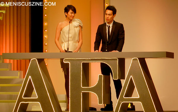 Gigi Leung and Tony Yang - 2013 Asian Film Awards