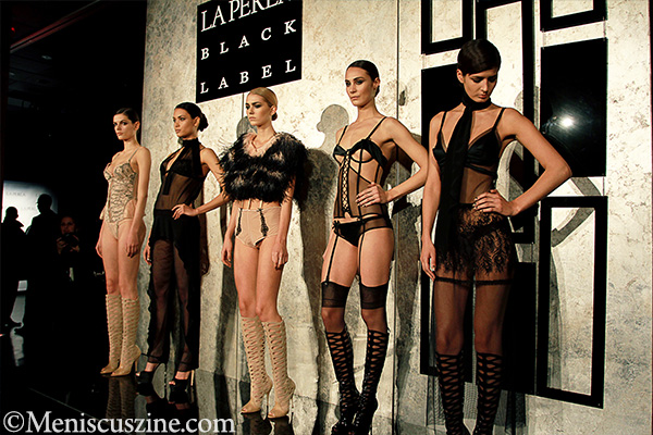 The relaunch of the La Perla Black Label took place at the Dream Downtown Hotel in New York. (photo by Ekaterina Golovinskaya / Meniscus Magazine)