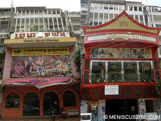 Prom Bayon Cinema - Phnom Penh, Cambodia
