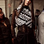 Brandon Sun - Fall 2013 Backstage - New York Fashion Week