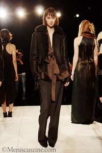 Brandon Sun Fall 2013 - New York Fashion Week
