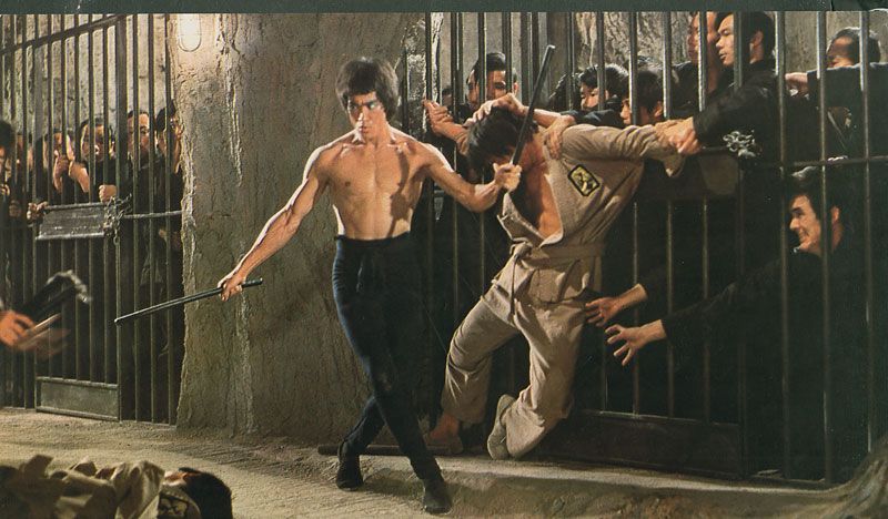 "Bruce Lee in ""Enter the Dragon,"" which turns 40 this year. (photo courtesy of the Hong Kong International Film Festival)"
