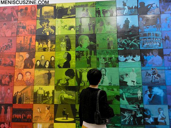 "Lin Jingjing's 2011 work, ""Public Memory 1,"" was successfully sold at Art Basel Hong Kong 2013. (photo by Yuan-Kwan Chan / Meniscus Magazine)"