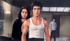 "Nora Miao and Bruce Lee in ""The Way of the Dragon."" (image courtesy of the Hong Kong International Film Festival)"