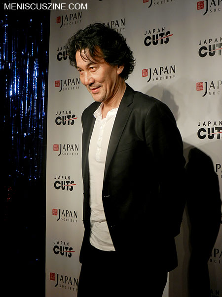 "Actor Koji Yakusho following the screening of ""The Woodsman and the Rain"" at the 2012 Japan Cuts film festival in New York on July 20, 2012. (photo by Yuan-Kwan Chan / Meniscus Magazine)"
