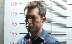 "Even Louis Koo (who plays Timmy Choi) looks exasperated, waiting for the drama to unfold in ""Drug War."" (photo courtesy of the Film Society of Lincoln Center)"