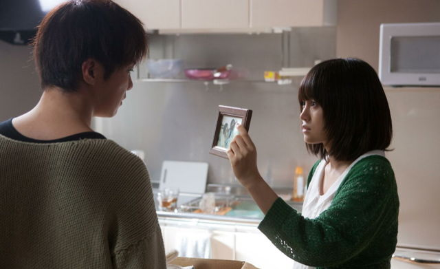 "Hiroki Narimiya (left) and former AKB48 lead Atsuko Maeda (right) in ""The Complex."" (photo courtesy of the Film Society of Lincoln Center)"