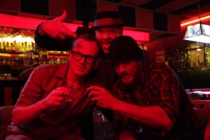 "(L-R) Pat Healy, David Koechner and Ethan Embry in E. L. Katz's ""Cheap Thrills"" (photo courtesy of the Fantasia International Film Festival)."