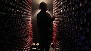 "The eccentric Peter Tseng and his $60 million wine collection in ""Red Obsession."" (photo courtesy of the Melbourne International Film Festival)"