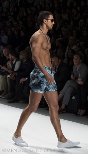 Nautica Men's Spring 2014 Black Sail Fashion Show NYFW Spring Nautica