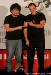 Quentin Tarantino & Boon Jong-ho - 2013 Busan International Film Festival