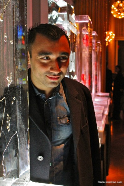 Nicola Formichetti at the jewelry collaboration capsule launch on Nov. 5. (photo by Shelly Xu / Meniscus Magazine)