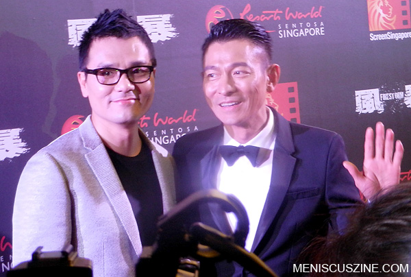 "Gordon Lam, Andy Lau - ""Firestorm"" World Premiere"
